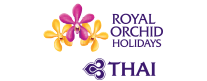 royal orchid holiday image logo