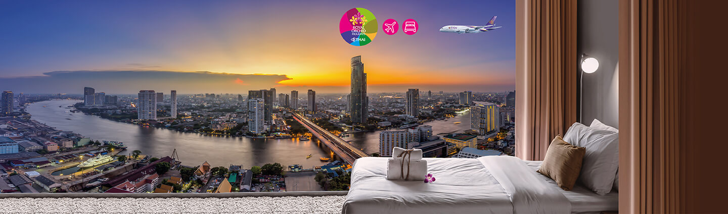 Get great hotel offers and earn double ROP miles when flying with THAI