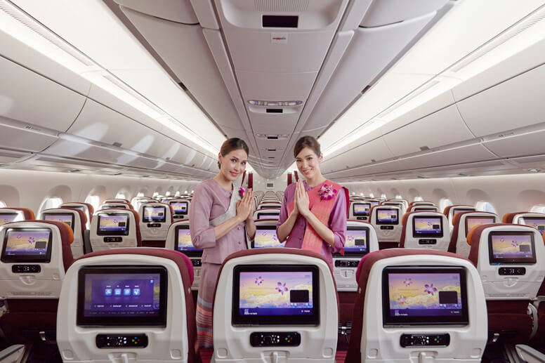 More Comfortable And Smooth With New A350 900xwb Thai Airways