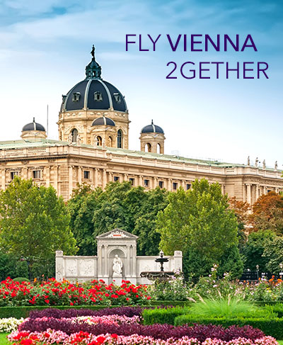 FLYVIENNA 2 GETHER : All inclusive round trip starting from THB 24,590 per person.