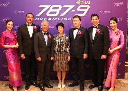 THAI Launches Boeing 787-9 on Bangkok- Taipei Route