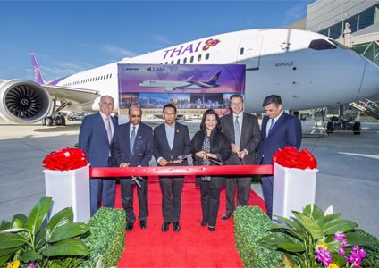 THAI Takes Delivery of Second Boeing 787-9 Dreamliner