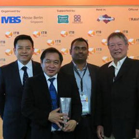 Thai Airways International received top honors for Best APAC Airline Website