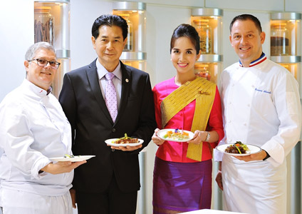 THAI Presents Chef On Board