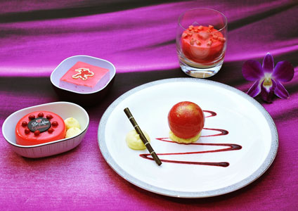 THAI Offers Special Desserts on Valentine's Day