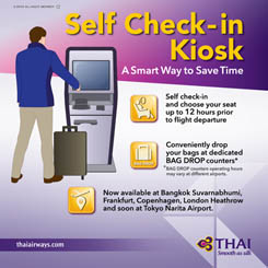 THAI's Self  Check-in Kiosk