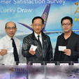 THAI rewards respondents of the airline's onboard and online survey with lucky-draw complimentary tickets