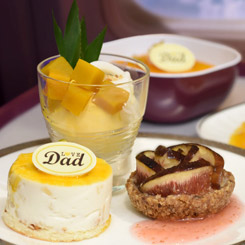 THAI Serves Special Royal Project Menus on Father's Day