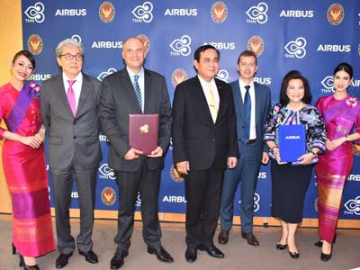 THAI and Airbus Sign Agreement for New Joint Venture MRO