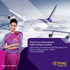 Thai Airways Karachi Town office have moved to a new location from 20NOV17.