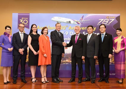 "THAI Celebrates its 30th Anniversary of the Bangkok-Auckland Route with the ""Hello New Zealand"" Campaign"