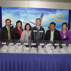 THAI Holds Lucky Draw for Customer Satisfaction Survey (TCCS) Participants