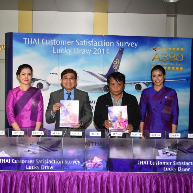 Winners of THAI Customer Satisfaction Survey (TCSS)