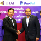 THAI Makes Passenger Payments Easier with Paypal