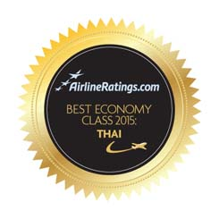 Thai Airways International wins 2015 Best Economy Class