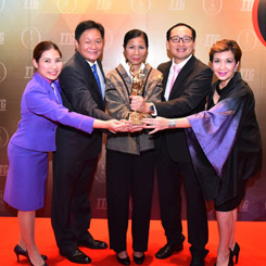 THAI Wins TTG Travel Awards 2015 for Best South-East Asian Airline