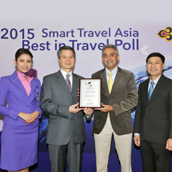 THAI Receives Three Smart Travel Asia Awards