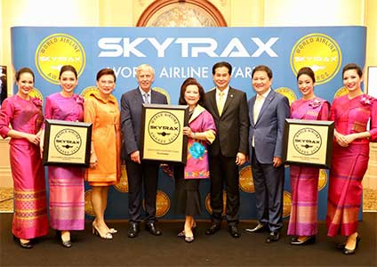 THAI Wins Three Skytrax Awards 2018