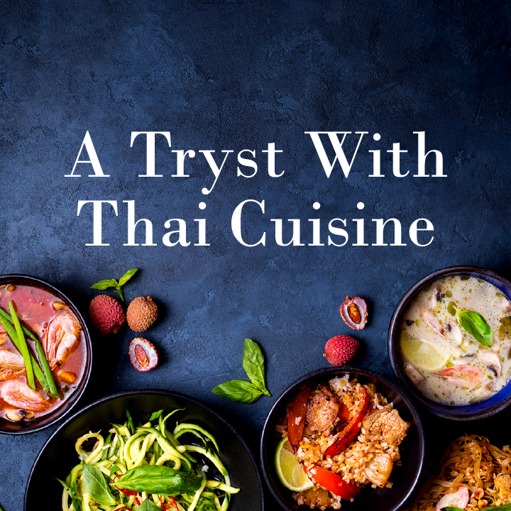 A Tryst with Thai Cuisine Thai food festival with chef Pook at Honk from 01 to 10 December 2017