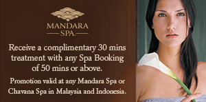 co-promotion with Mandara SPA