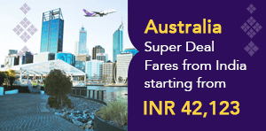 58th Anniversary Promotional Fares to Australia From India