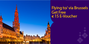 Get Free E-voucher of 15 Euro to shop at Brussels Airport