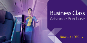 30 Days Advance Purchase Business Class