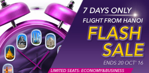 Flash Sale Offers from Hanoi