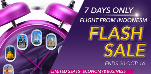 Flash Sale Offers from Indonesia