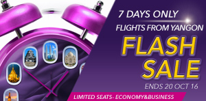 Flash Sale Offers from Yangon