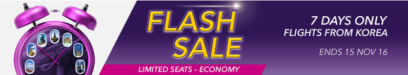 Flash Sale Offers from Korea