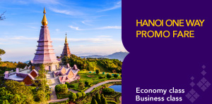 HANOI ONE WAY PROMO FARE