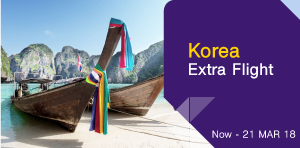 Korea Extra Flight