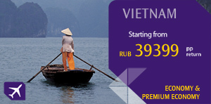 Moscow to Vietnam