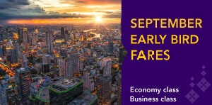 September Early Bird Fares