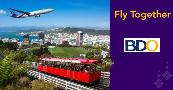 Fly together with bdo promotions thai airways - Thai airways dubai office ...
