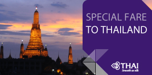 Special Fare to Thailand