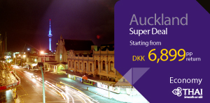 Super Deal from Denmark - Auckland