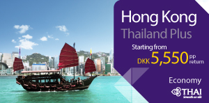 Thailand Plus - Hong Kong on economy class