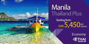 Thailand Plus - Manila on economy class