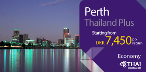 Thailand Plus - Perth on economy class