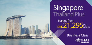 Thailand Plus - Singapore on Business class