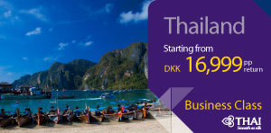 Business class to Thailand