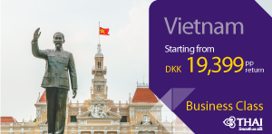 Business class to Vietnam