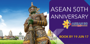 ASEAN 50th Anniversary from Myanmar