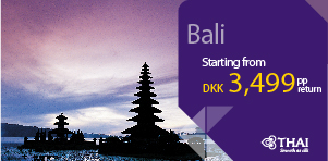 SUPER DEAL - Copenhagen to Bali