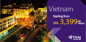 SUPER DEAL - Copenhagen to Vietnam