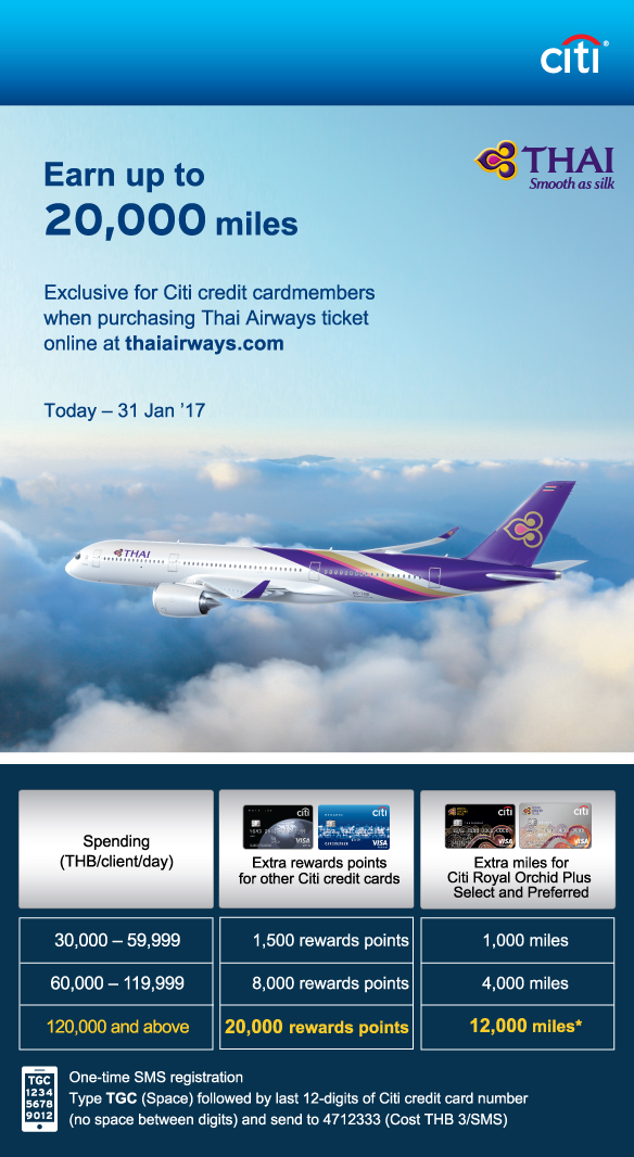 Check out the latest spending credit card promotions and exclusive online shopping, dining and travel deals for your credit card with Citibank Hong Kong. Citi Pay with Points Now available at 5 major merchants' online platforms Redeem Now. Citi ThankYou SM Rewards Redeem flights.