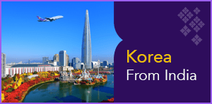 58th Anniversary Promotional Fares to Korea From India