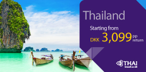 SUPER DEAL - Copenhagen to Thailand